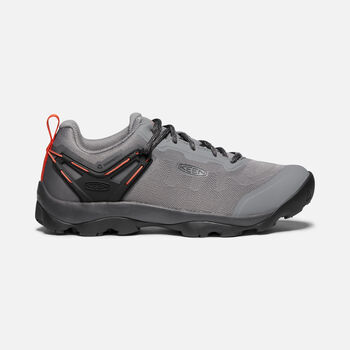 Men's Venture Vent Hiking Shoes in Steel Grey/Burnt Ochre - large view.