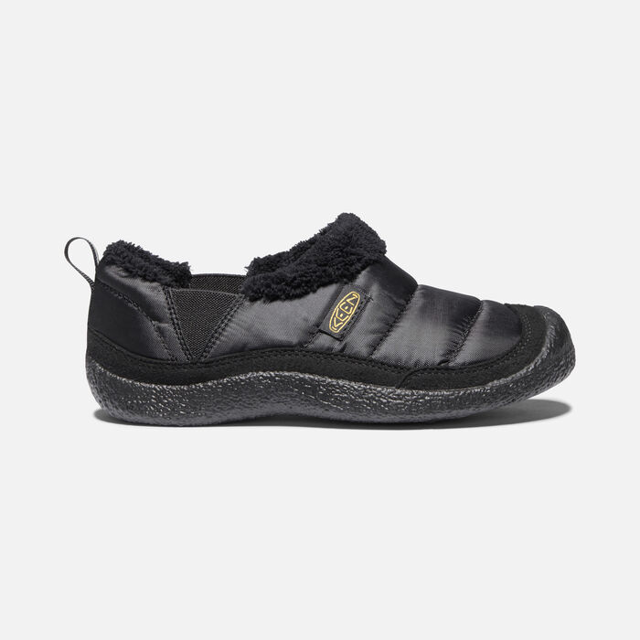 Younger Kids' Howser II Casual Shoes in Black/Black - large view.