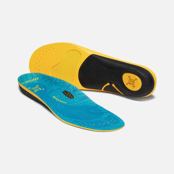 Men's Outdoor K-30 Medium Arch Insoles in BLUE - large view.