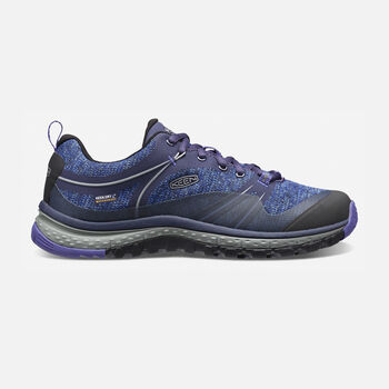 Women's Terradora Waterproof Hiking Shoes in ASTRAL AURA/LIBERTY - large view.