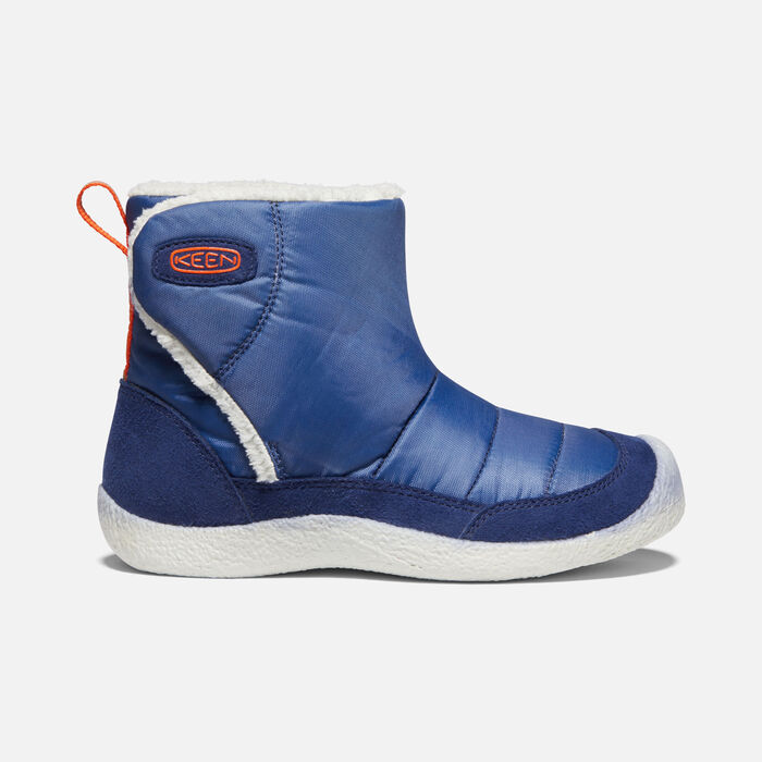 Little Kids' Howser II Boot in Blue Depths/Silver Birch - large view.
