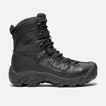 "Women's CSA Oshawa 8"" Boot (Steel Toe) in Black - large view."