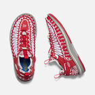 Men's UNEEK HT in RED PAISLEY - small view.