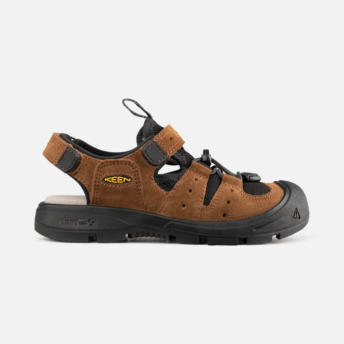 Younger Kids' Balboa Sandals in Bison/Black - large view.