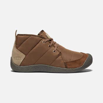 MEN'S HOWSER QUILTED CHUKKA in DARK EARTH/BRINDLE - large view.