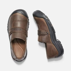 Women's Kaci Full Grain Slip-On in Cascade Brown - small view.