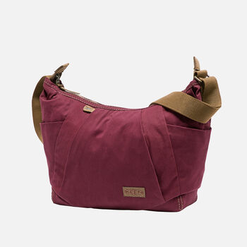 Women's Westport Shoulder Bag (Brushed Twill) in Zinnia Purple - large view.