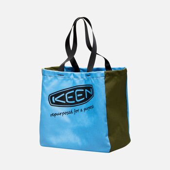 KEEN Tote Bag in LIGHT BLUE/GREEN - large view.