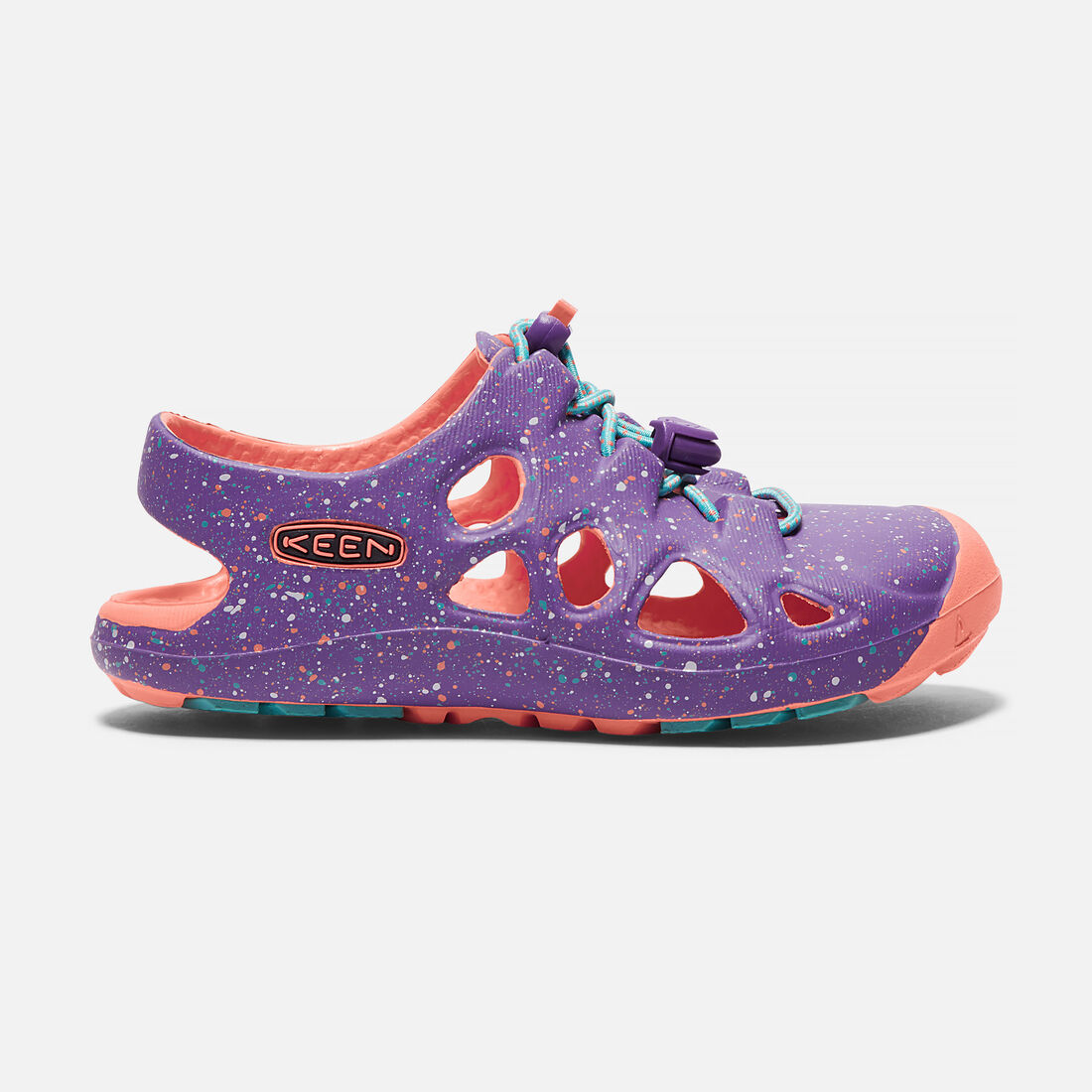 Toddlers' Rio in Purple Heart/Coral Fusion - large view.