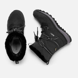 Women's TERRADORA APRÈS Waterproof Boot in Black/Magnet - small view.