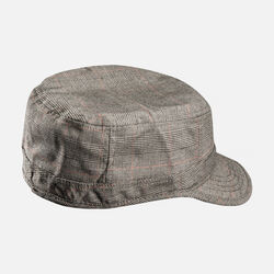 KEEN Short Bill Hat in Olive Plaid - small view.