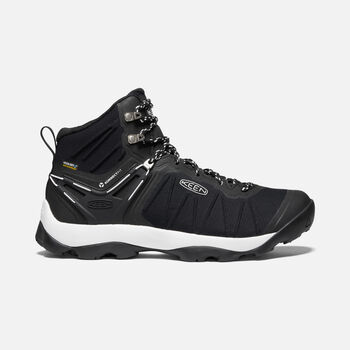 Men's VENTURE MID WP in BLACK/STAR WHITE - large view.