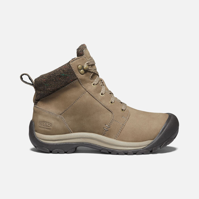 Women's Kaci II Winter Waterproof Boot in Timberwolf/Brindle - large view.