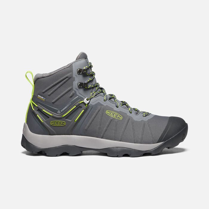 Men's Venture Waterproof Mid in Magnet/Chartreuse - large view.