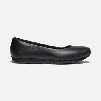 Women's KANTEEN Ballet Flat (Soft Toe) in BLACK/MAGNET - large view.