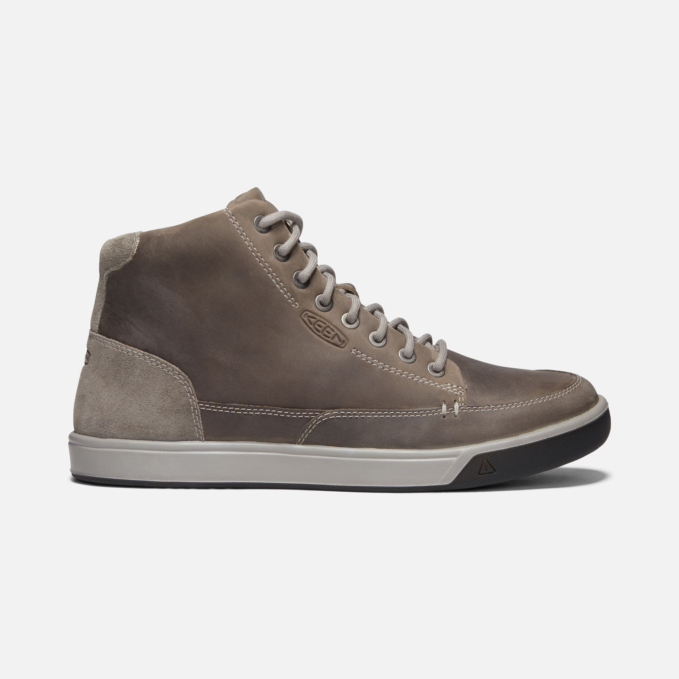 786cfe6256a Men's Glenhaven Mid Sneaker Boots - Leather Lace-Up Sneakers | KEEN Footwear